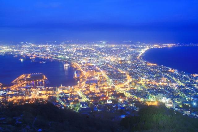 函館観光おすすめコースやランキングと観光地図