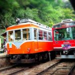 箱根登山鉄道の時刻表や路線図、人気のあじさい電車