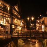 銀山温泉の行き方や人気旅館と散策マップ