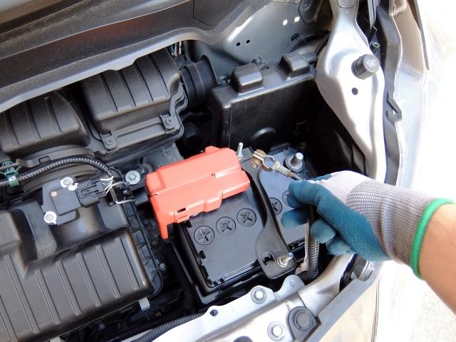 車のバッテリー上がり