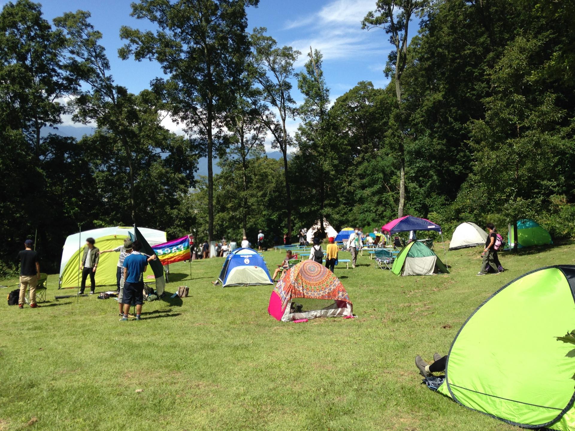 キャンプ場・関東や関西の人気施設