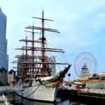 帆船日本丸の展示イベントやスケジュールと地図